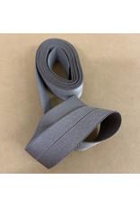 Picking Daisies Fold-Over Elastic Ribbon, 2-Yard Cut, Taupe