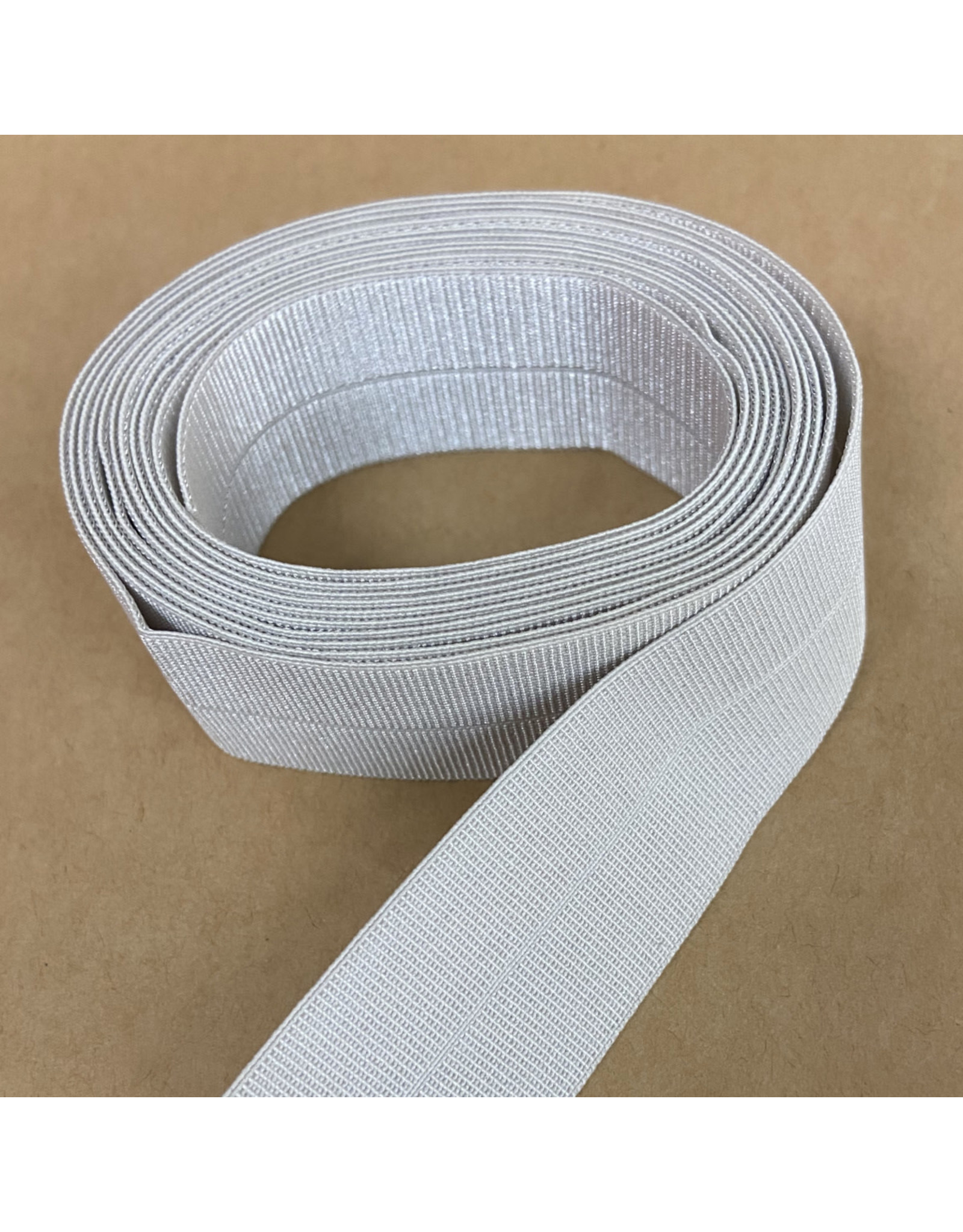 Picking Daisies Fold-Over Elastic Ribbon, 2-Yard Cut, Silt