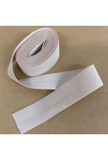 Picking Daisies Fold-Over Elastic Ribbon, 2-Yard Cut, Nude