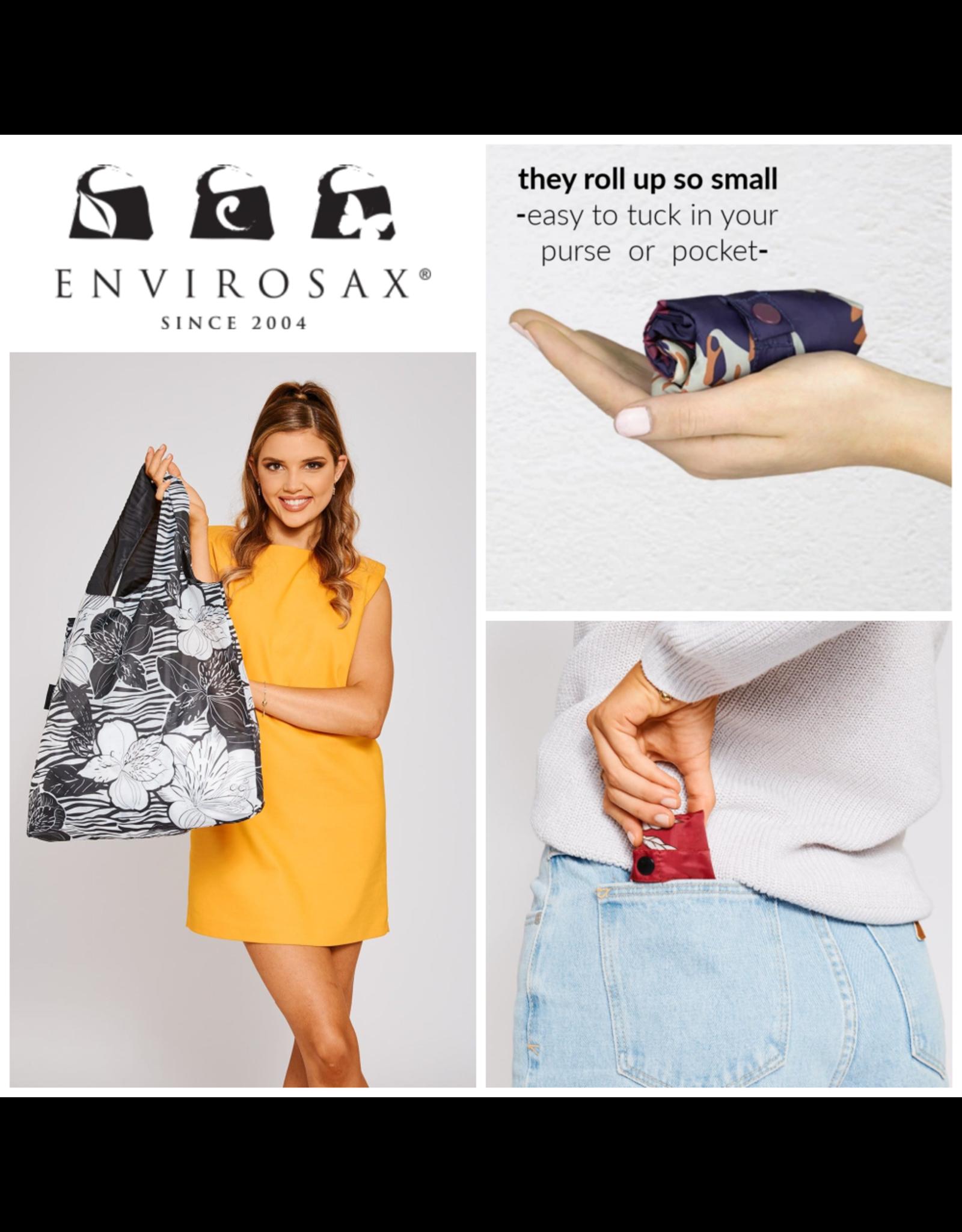 Envirosax Ankara Pomegranates - Pocket Sized Reusuable Bag from Envirosax