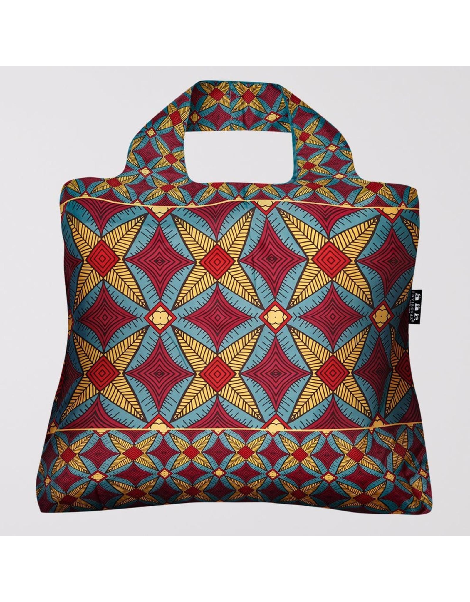 Envirosax Ankara Stars - Pocket Sized Reusuable Bag from Envirosax