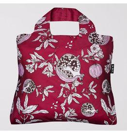 Envirosax Gardners Delight Pomegranate - Pocket Sized Reusuable Bag from Envirosax