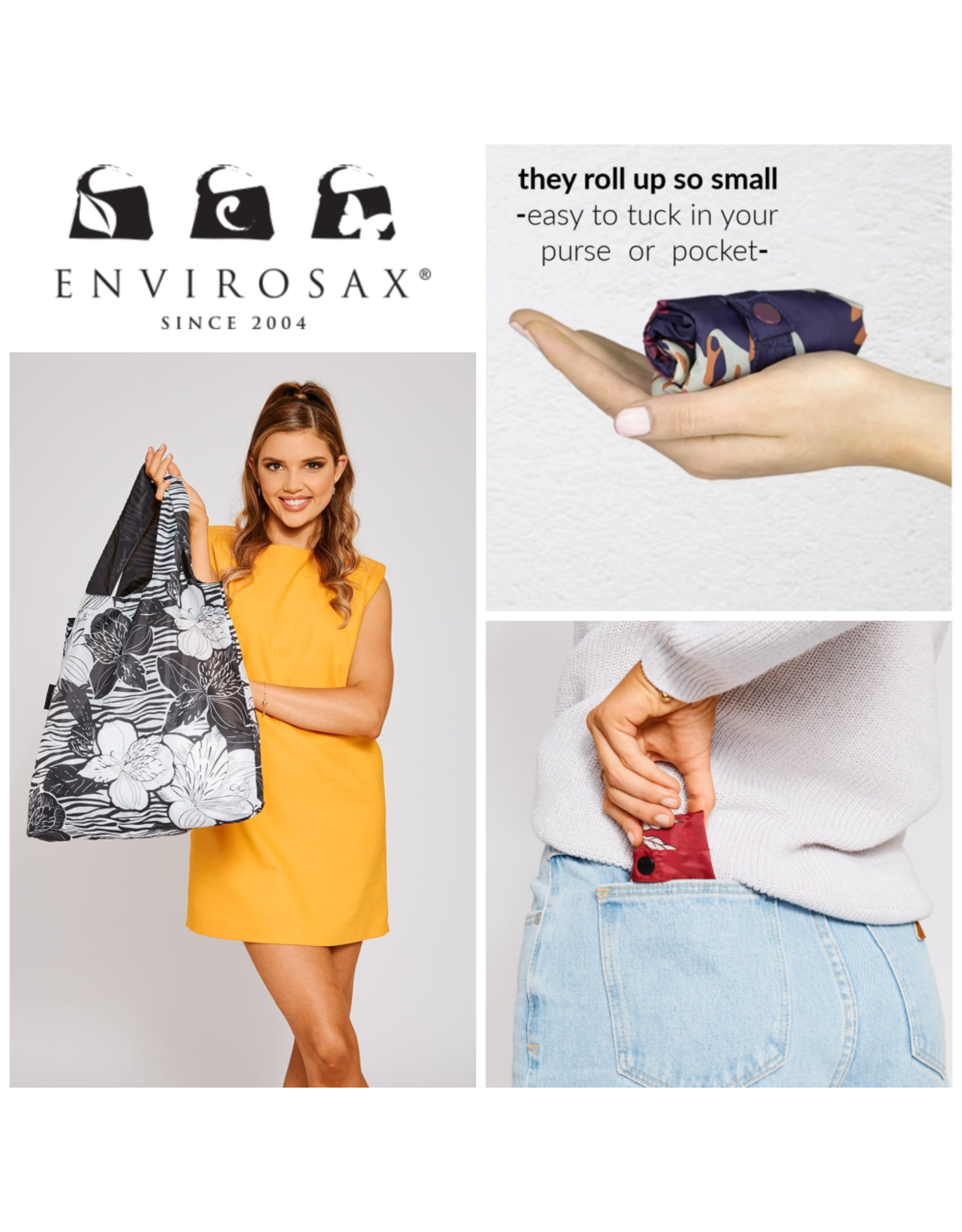 Envirosax Palm Springs - Pocket Sized Reusuable Bag from Envirosax