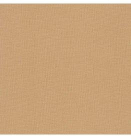 Robert Kaufman Kona Cotton in Wheat, Fabric Half-Yards