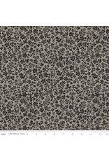 J. Wecker Frisch Old Made, Wallflower in Gray, Fabric Half-Yards