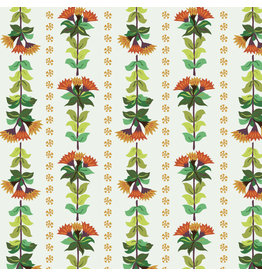 Kathy Doughty Earth Made Paradise, Wallpaper in Gold, Fabric Half-Yards