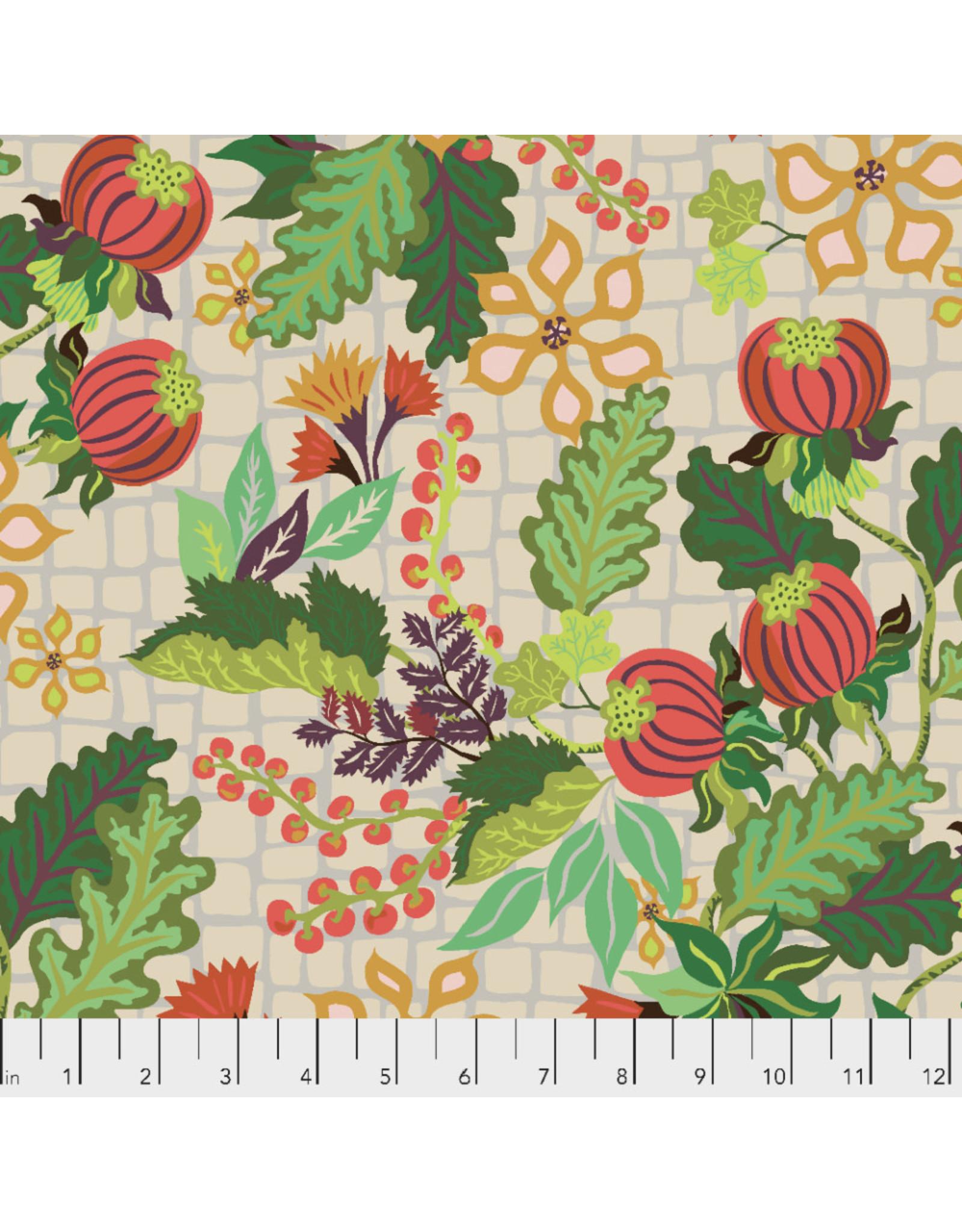 Kathy Doughty Earth Made Paradise, Abundance in Cream, Fabric Half-Yards
