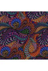 Adrienne Leban BioGeo-1, Kaleido in Multi, Fabric Half-Yards