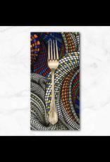 PD's Adrienne Leban Collection BioGeo-1, Snail Garden in Multi, Dinner Napkin