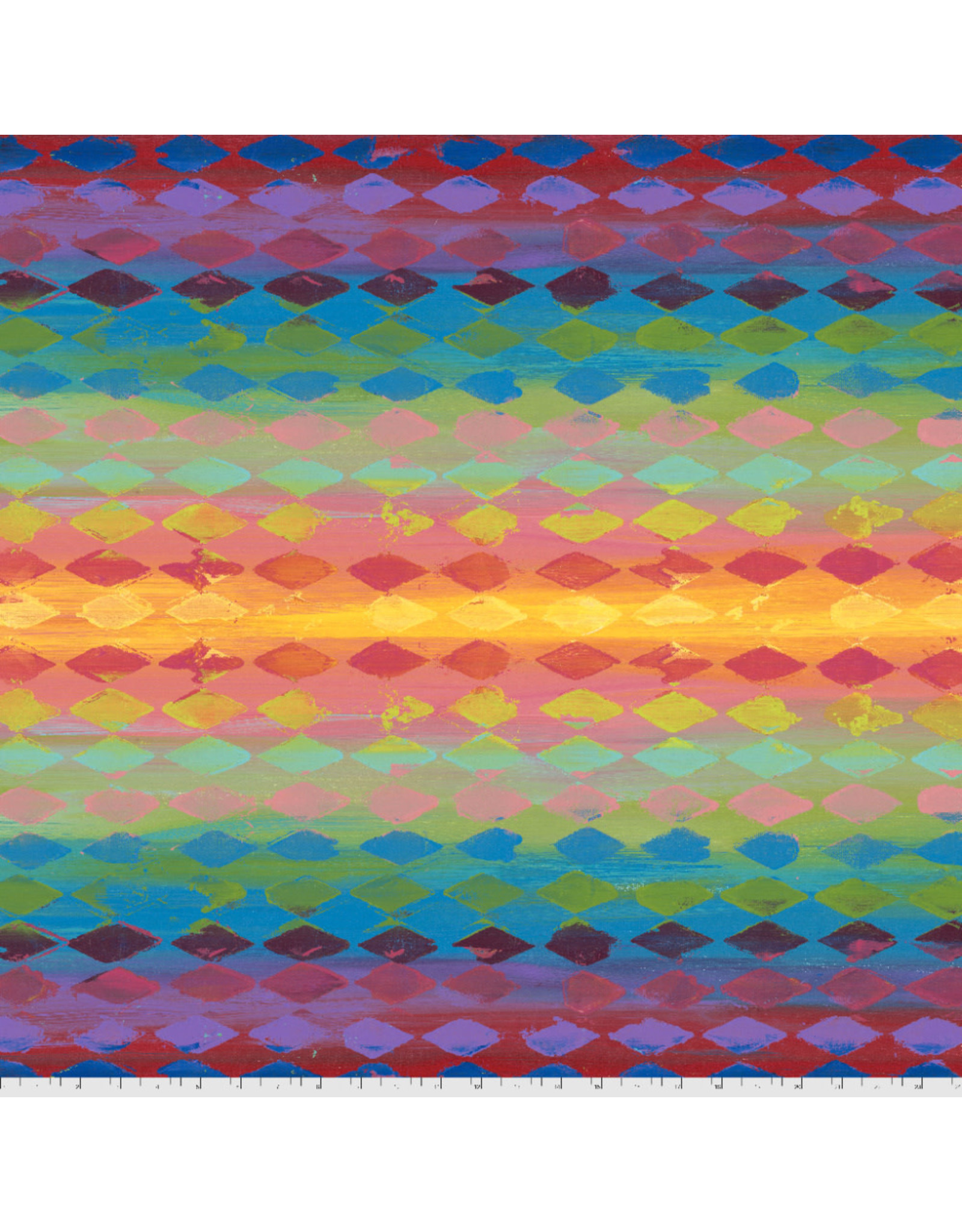 PD'S Free Spirit Collection Pizzazz, Harlequin in Multi, Dinner Napkin
