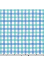 Robert Kaufman Yarn Dyed Cotton Flannel, Mammoth Junior Flannel in Sea Glass, Fabric Half-Yards