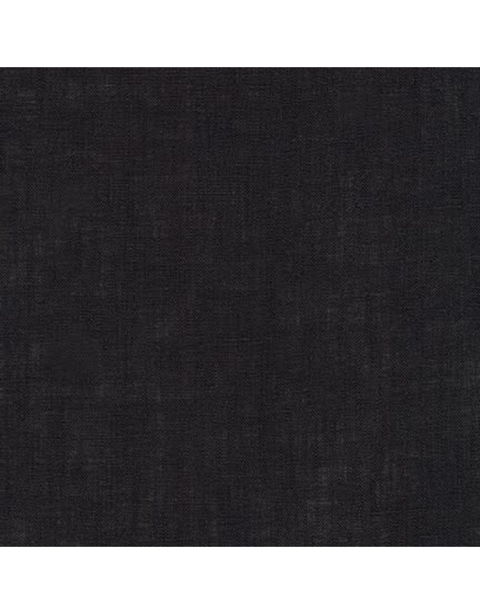 Robert Kaufman Limerick Linen in Black, Fabric Half-Yards