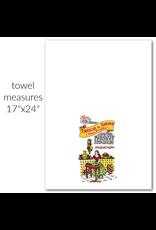 """Red & White Kitchen Co. Tortilla Flour Sack Towel 17"""" x 24"""""""