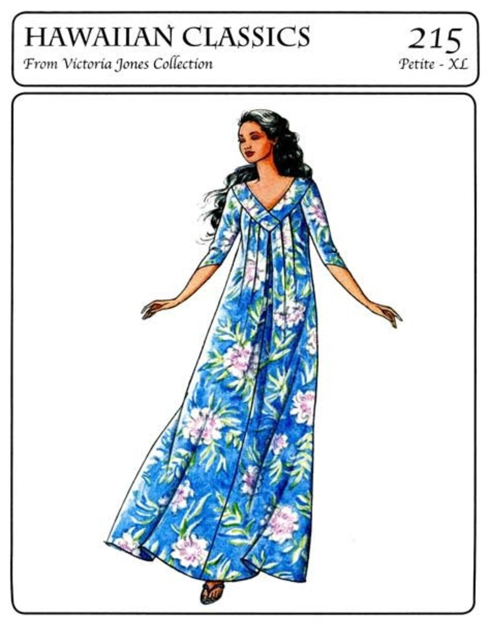 Victoria Jones Collection Hawaiian Classics, Misses Muumuu Sewing Pattern