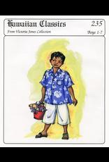 Victoria Jones Collection Hawaiian Classics, Boy's Aloha Shirt Sewing Pattern