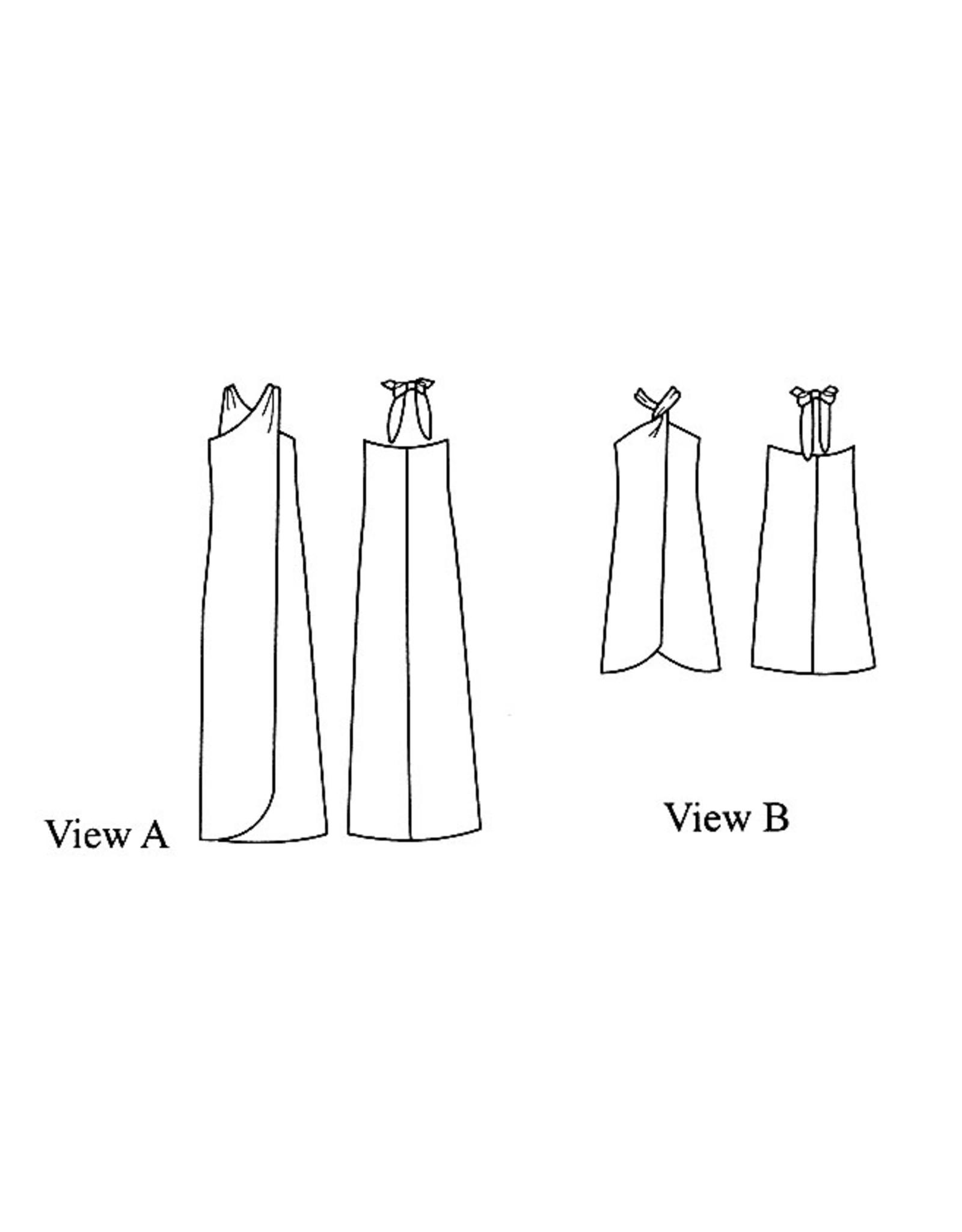 Victoria Jones Collection Hawaiian Classics, Misses Pareau Sewing Pattern