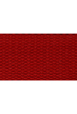 """United Notions Red Cotton Webbing Strapping 1"""" wide, by the yard"""