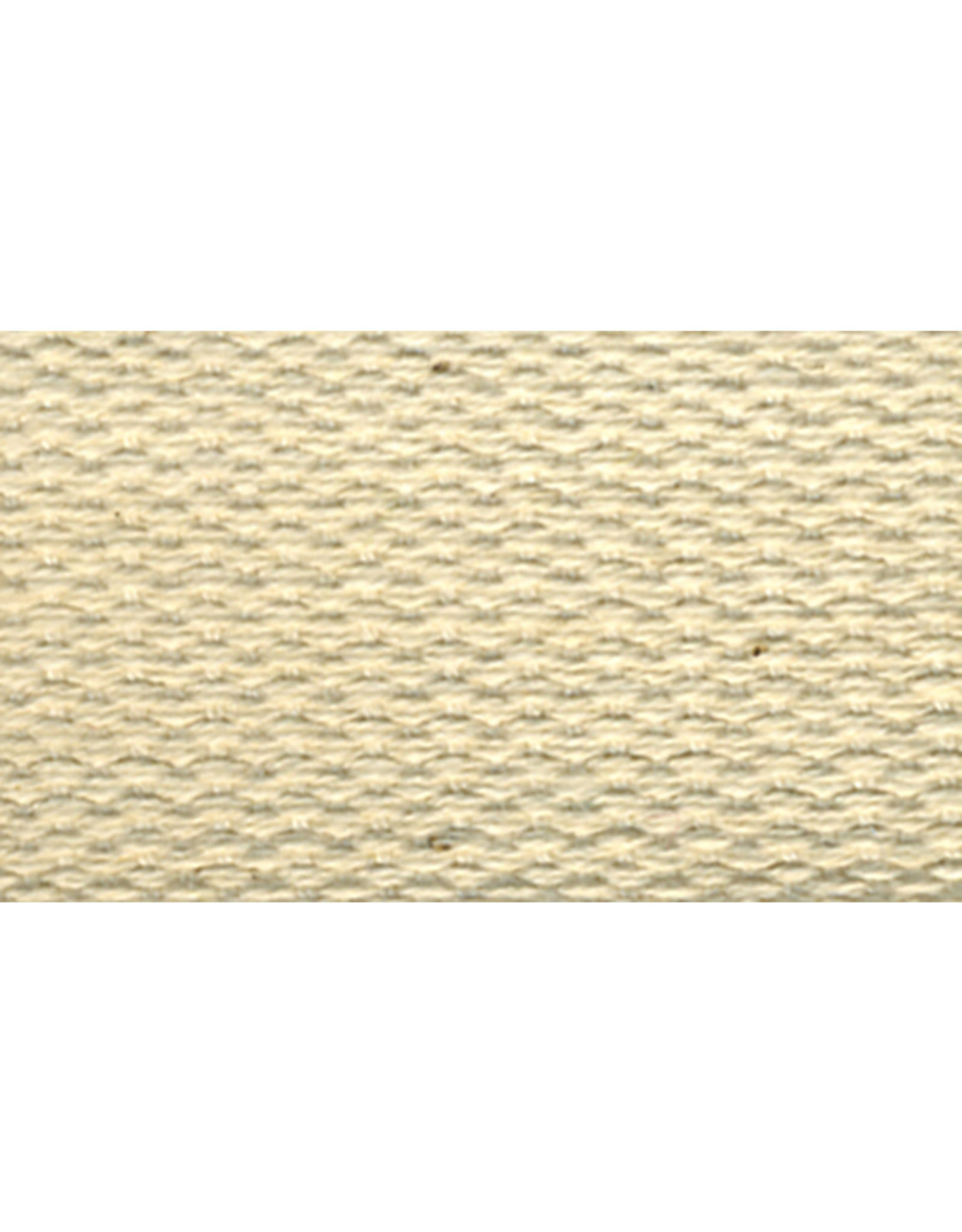 United Notions Cream/Natural Cotton Webbing Strapping by the Yard, 1 inch wide