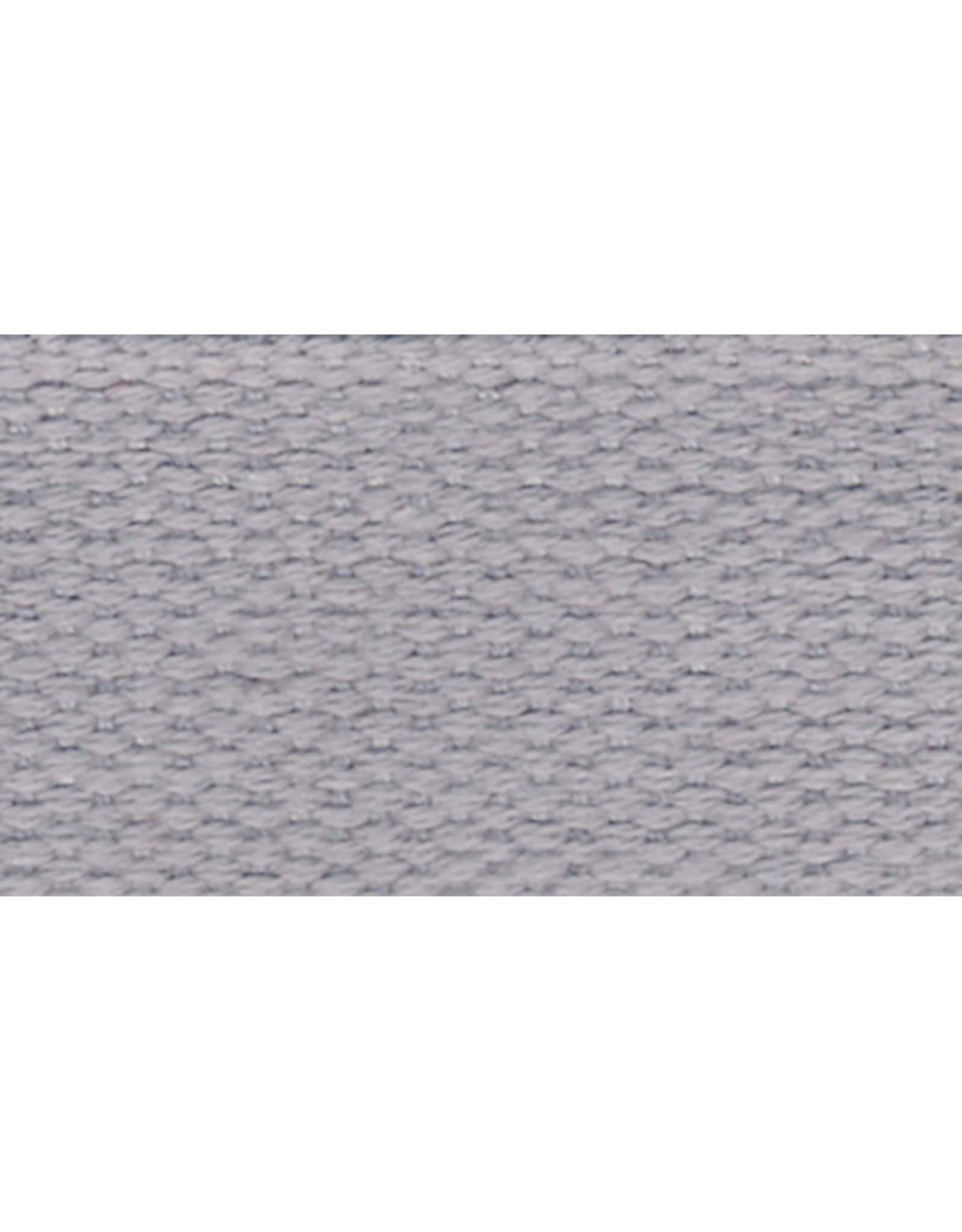 United Notions Light Grey Cotton Webbing Strapping by the Yard, 1 inch wide