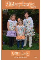 Abbey Lane Quilts Little Lady Apron Pattern for Girls