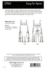Indygo Junction Easy On Apron Pattern