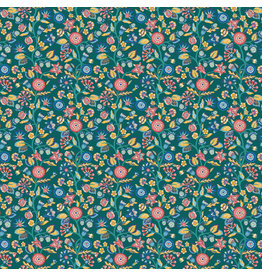 Liberty Fabrics Liberty Emporium,  Merchants Tree A, Fabric Half-Yards