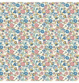 Liberty Fabrics Liberty Emporium,  Merchants Tree B, Fabric Half-Yards
