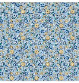 Liberty Fabrics Liberty Emporium,  Merchants Tree C, Fabric Half-Yards