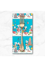 PD's Michael Miller Collection Kiss the Cook, A Spoonful of Sugar, Dinner Napkin