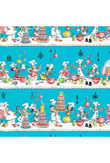 Michael Miller Kiss the Cook, A Spoonful of Sugar,  Fabric Half-Yards