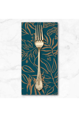 PD's Moda Collection Sunshine Soul, Leaf It To Me Leaves in Jadeite, Dinner Napkin