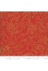 PD's Moda Collection Sunshine Soul, Leaf It To Me Leaves in Warm Peach, Dinner Napkin