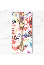 PD's Moda Collection Sunshine Soul, Bloomination Watercolor in Warm Breeze, Dinner Napkin