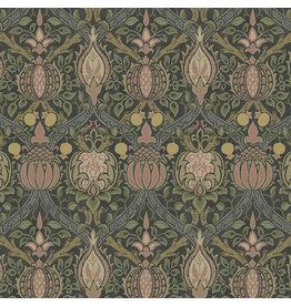 William Morris & Co. Morris & Co., Granada, Granada in Charcoal, Fabric Half-Yards