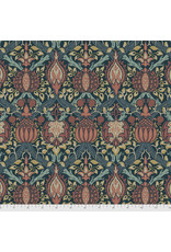 PD's William Morris Collection Morris & Co., Granada, Granada in Indigo, Dinner Napkin