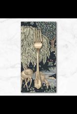 PD's William Morris Collection Morris & Co., Granada, The Brook in Indigo, Dinner Napkin