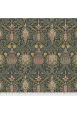 PD's William Morris Collection Morris & Co., Granada, Blackthorne in Charcoal, Dinner Napkin