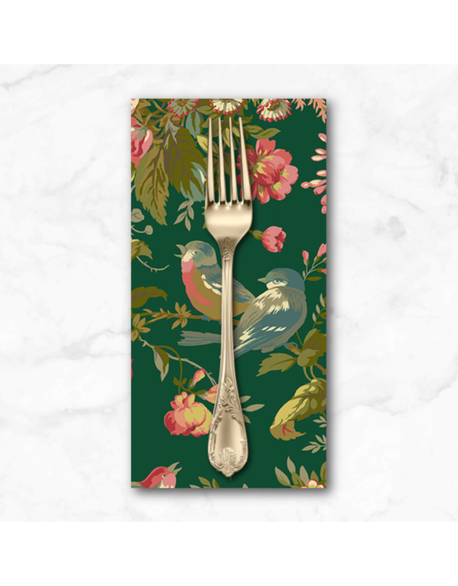 PD's Andover Collection Secret Stash, Foliage in Verdian, Dinner Napkin