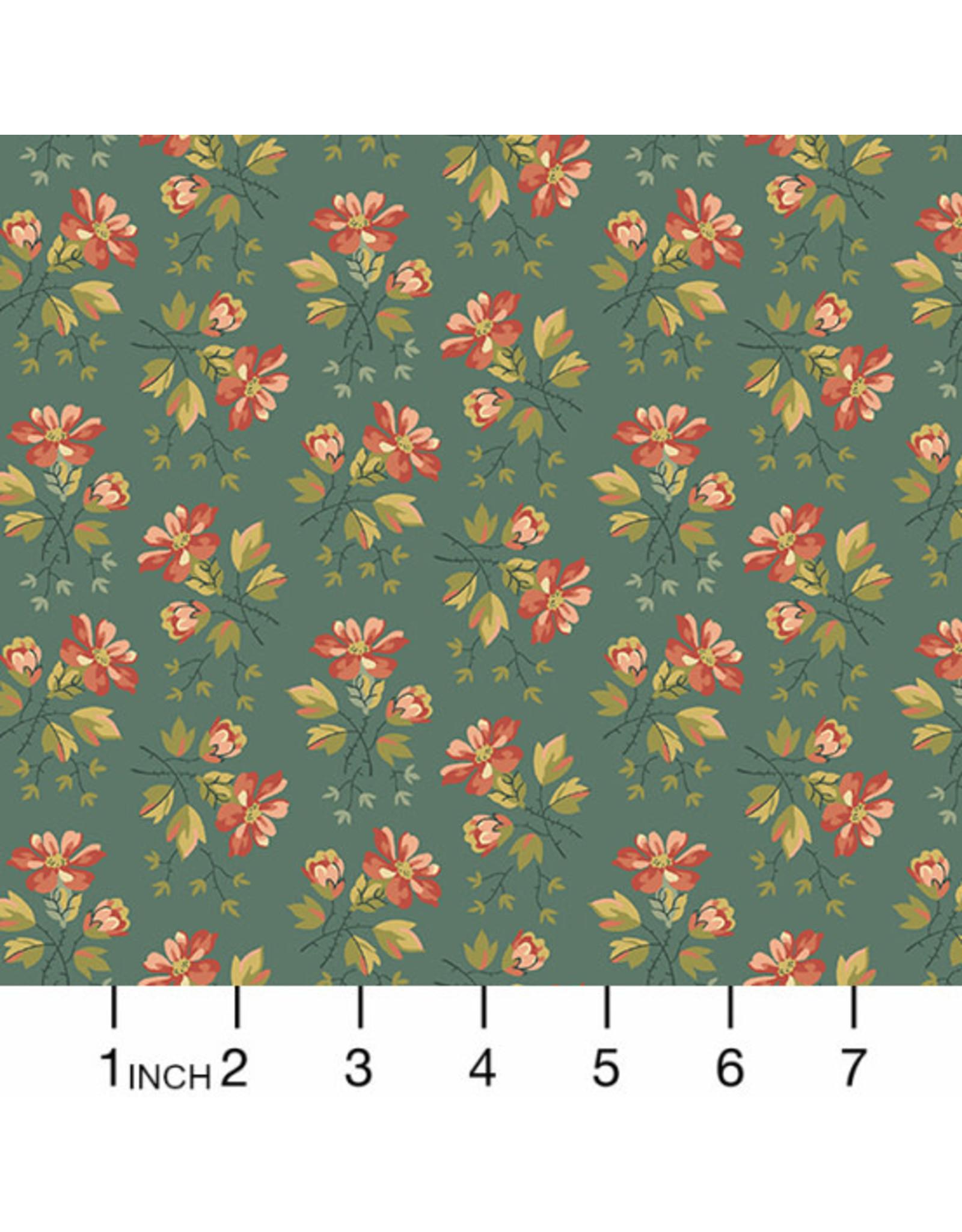 PD's Andover Collection Secret Stash, Wild Flowers in Juniper Berries, Dinner Napkin