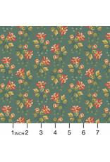 Andover Fabrics Secret Stash, Wild Flowers in Juniper Berries, Fabric Half-Yards