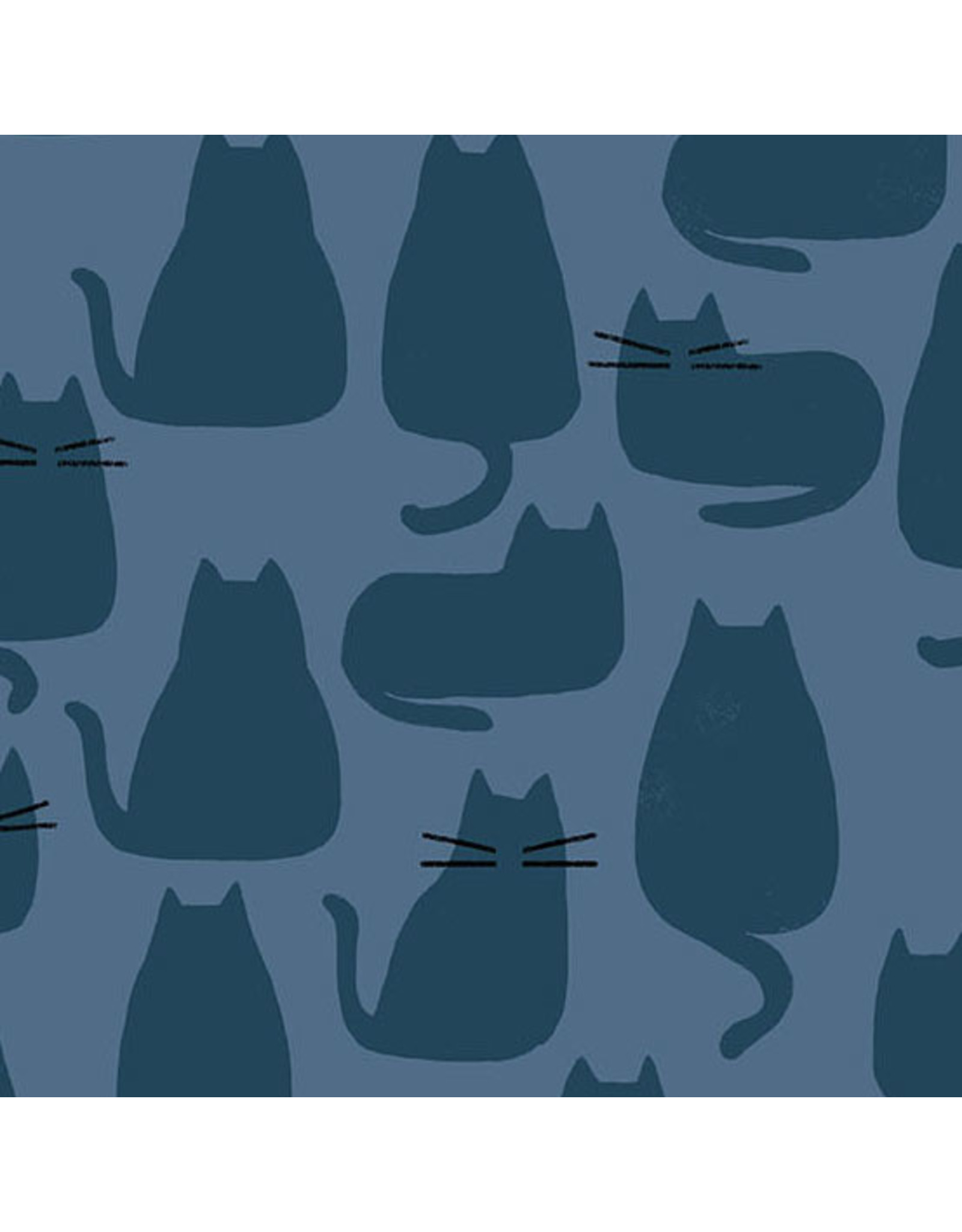 Sarah Golden Whiskers and Dash, Whiskers in Brine, Fabric Half-Yards