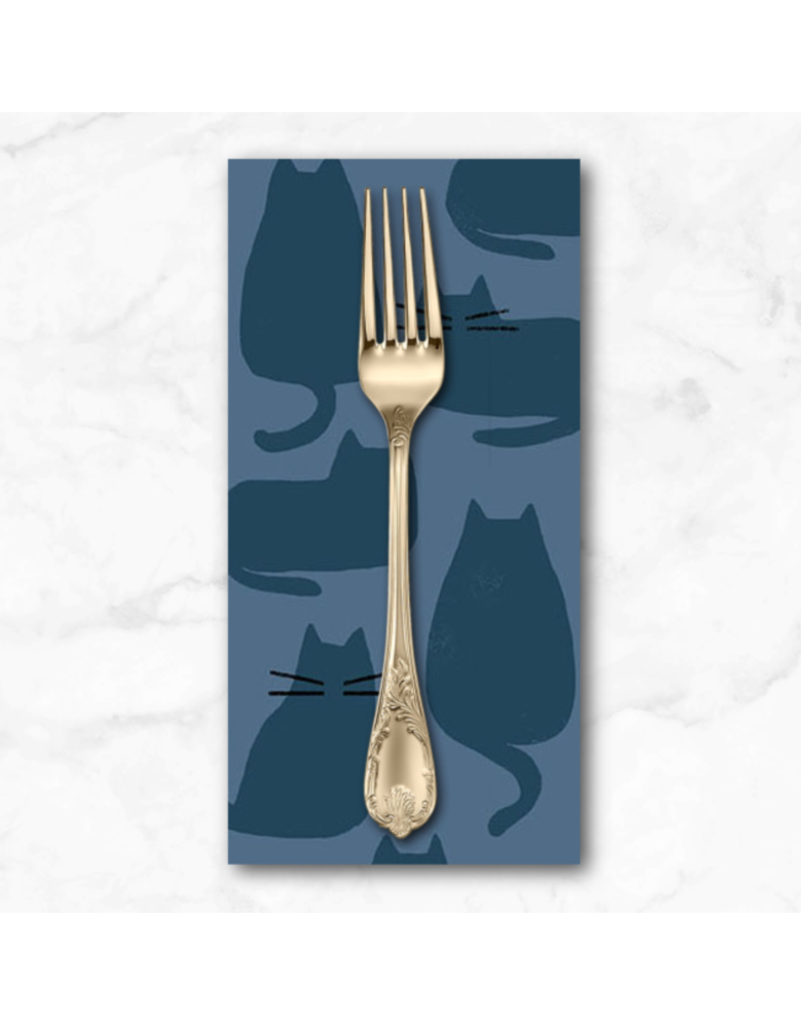 PD's Sarah Golden Collection Whiskers and Dash, Whiskers in Brine, Dinner Napkin