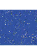 Rashida Coleman-Hale Ruby Star Society, Speckled New in Blue Ribbon, Fabric Half-Yards