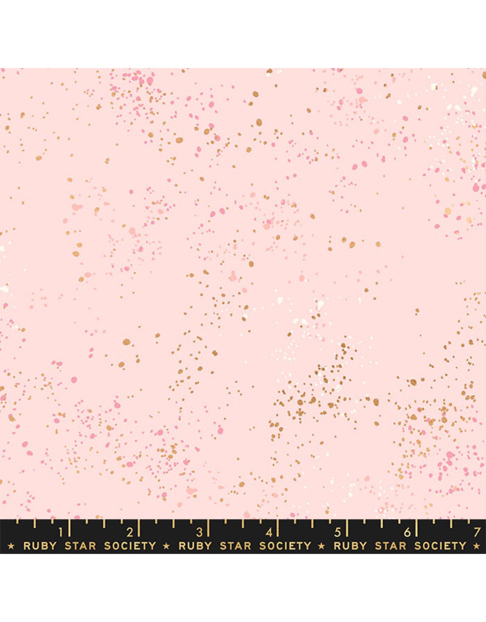 Rashida Coleman-Hale Ruby Star Society, Speckled New in Pale Pink, Fabric Half-Yards