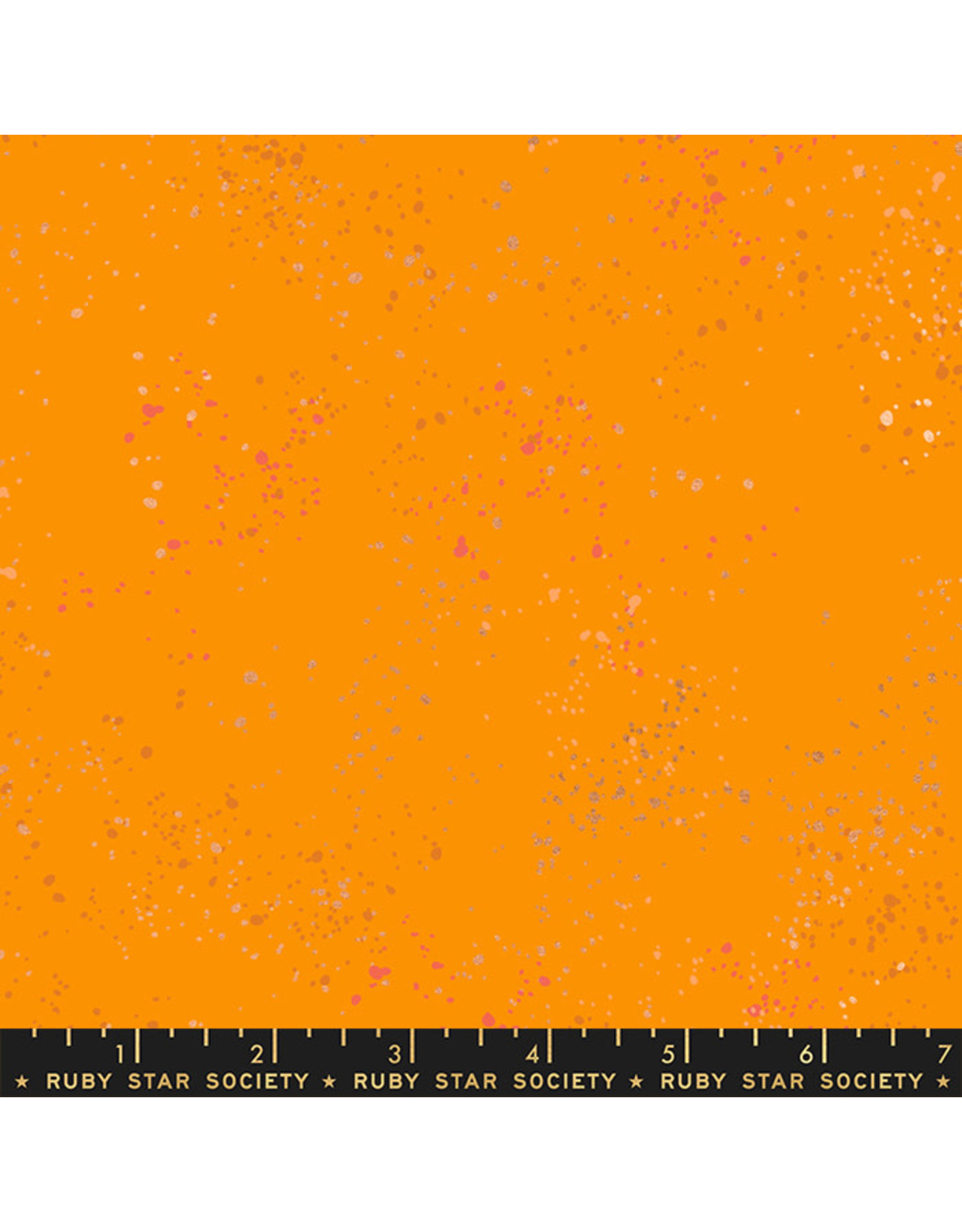 PD's Ruby Star Society Collection Ruby Star Society, Speckled New in Clementine, Dinner Napkin