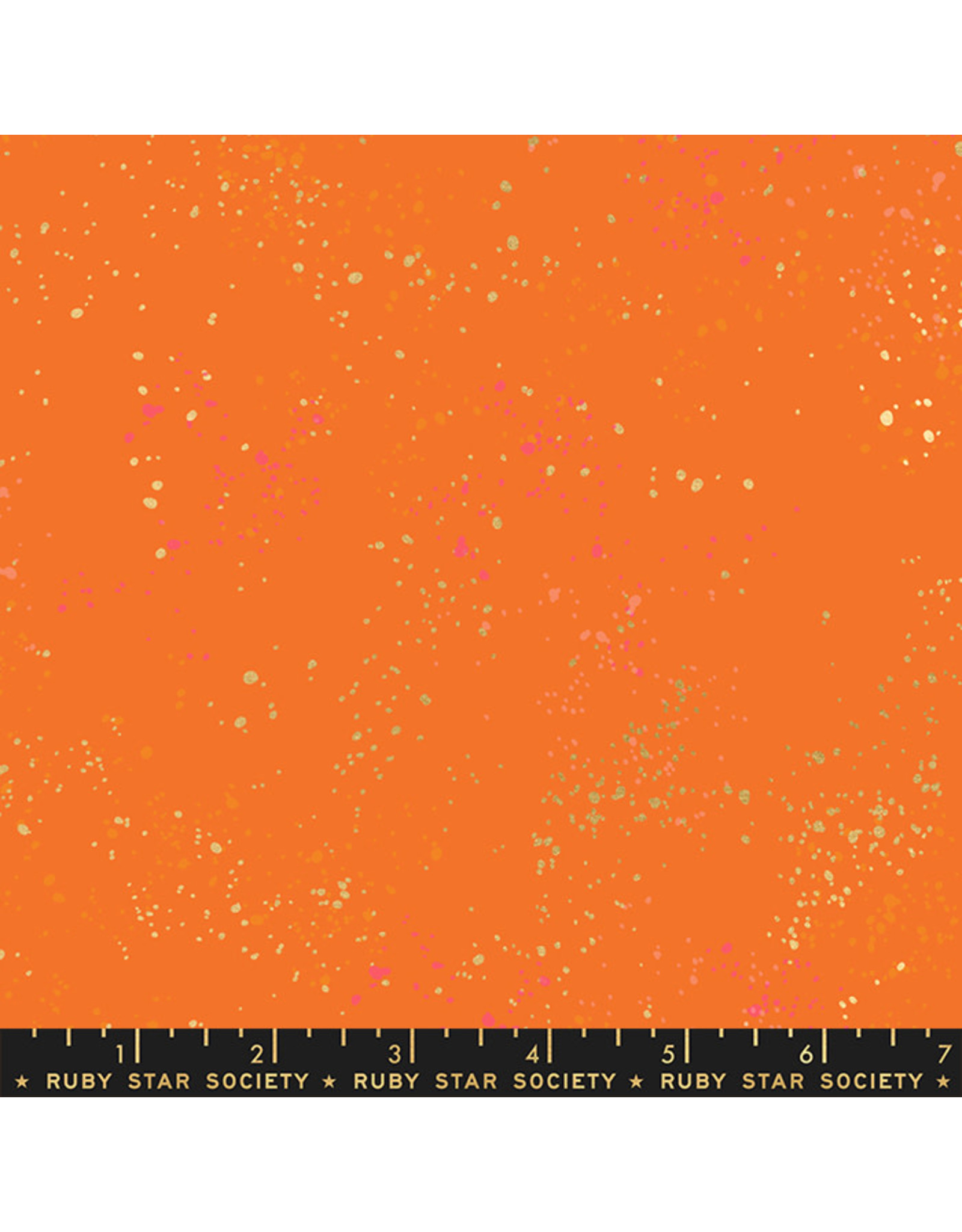 PD's Ruby Star Society Collection Ruby Star Society, Speckled New in Burnt Orange, Dinner Napkin