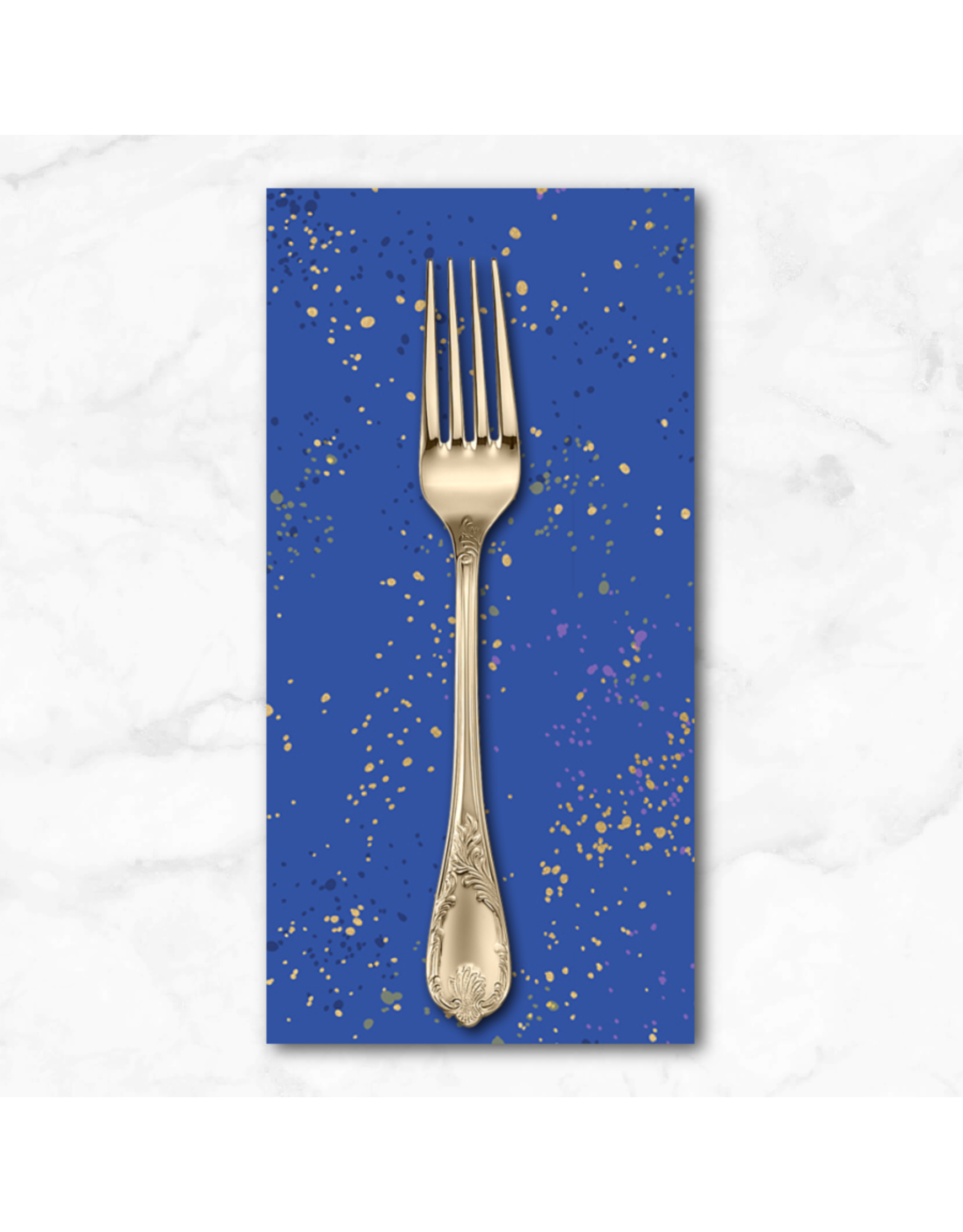 PD's Ruby Star Society Collection Ruby Star Society, Speckled New in Blue Ribbon, Dinner Napkin