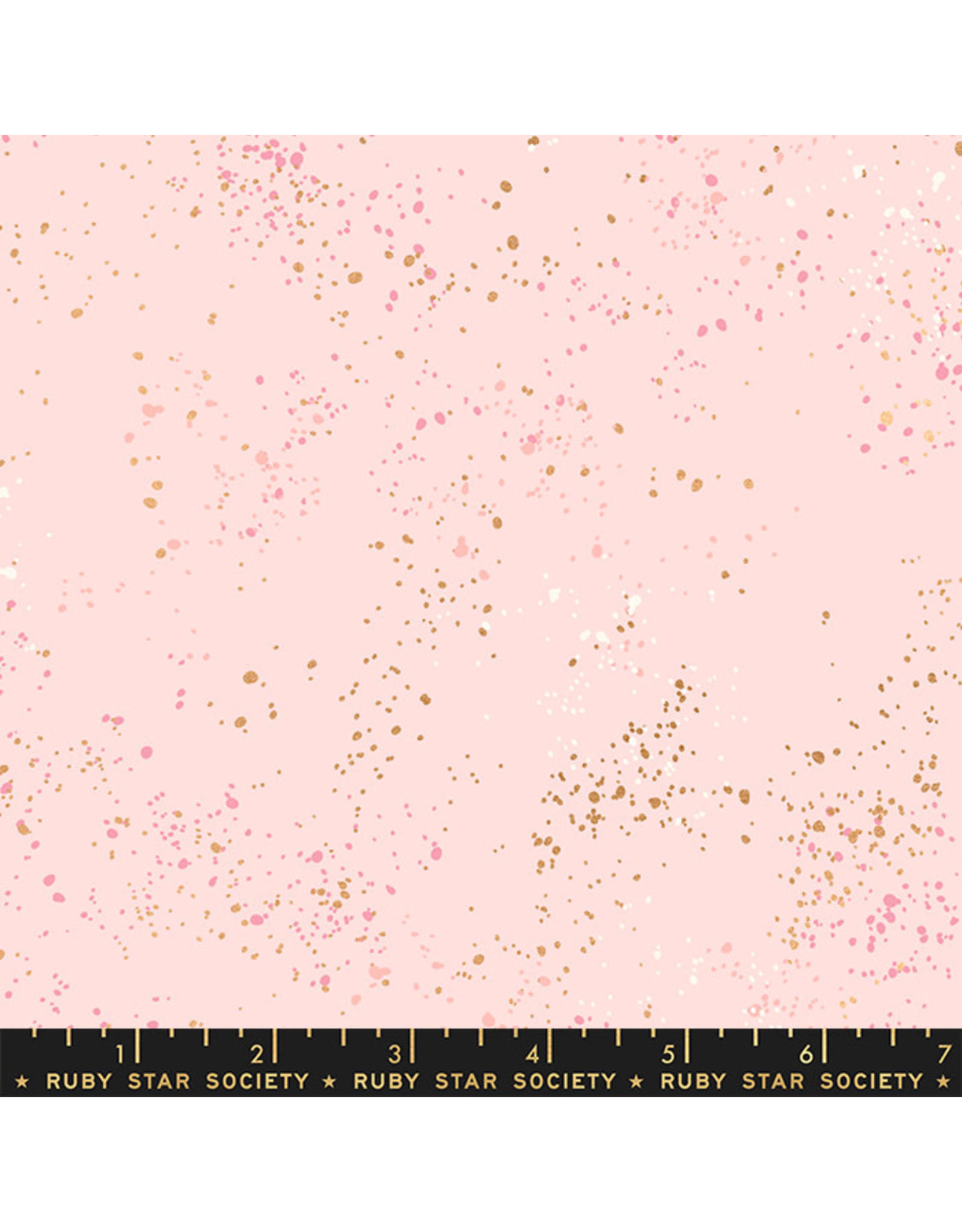 PD's Ruby Star Society Collection Ruby Star Society, Speckled New in Pale Pink, Dinner Napkin
