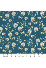 PD's Figo Collection Forage, Clover in Teal, Dinner Napkin