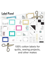 """Figo Label Panel, 24"""" x 43"""" Fabric Panel for Quilt Labels and More"""